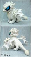White dragon plush