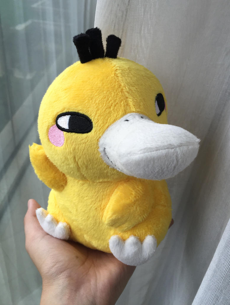 Magic  Psyduck  Plush by d215lab
