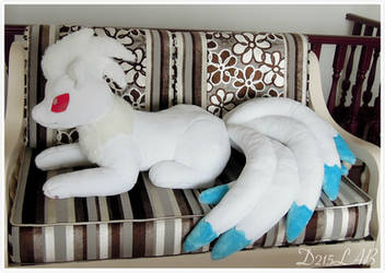 Shiny Ninetails Plush by d215lab