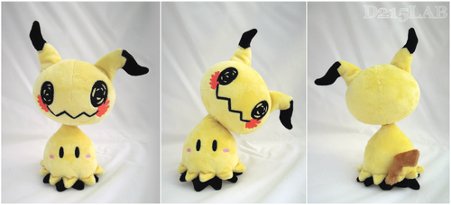 Lifesize Mimikyu plush by d215lab