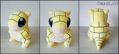 Sandshrew Plush