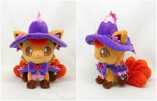Halloween vulpix plush
