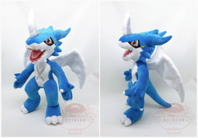 Exveemon Plush