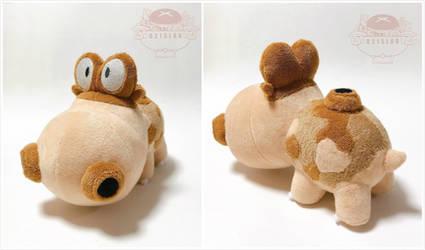 Hippowdon Plush