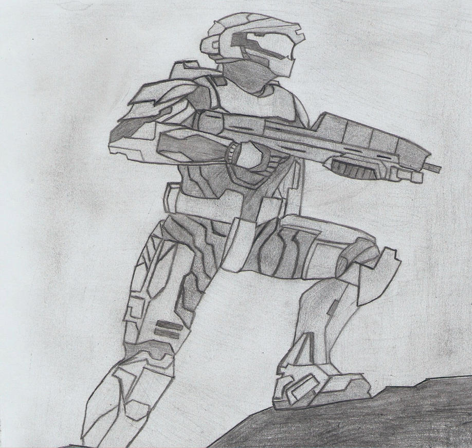 youtube how to draw master chief