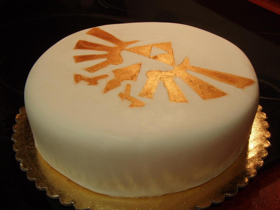Zelda Triforce Cake Take 2 By Major Link