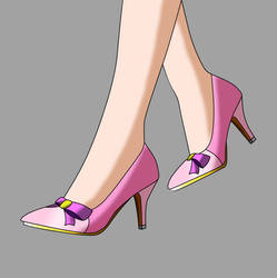Shoes for Princess Helen Flammond - Concept V2