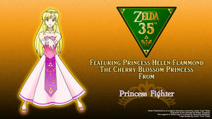 Helen - Zelda 35th Anniversary Promotion