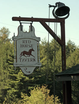 Red Horse Tavern sign