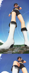 No.131 giantess by 5nbe
