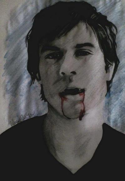 Damon Salvatore by Minato1993