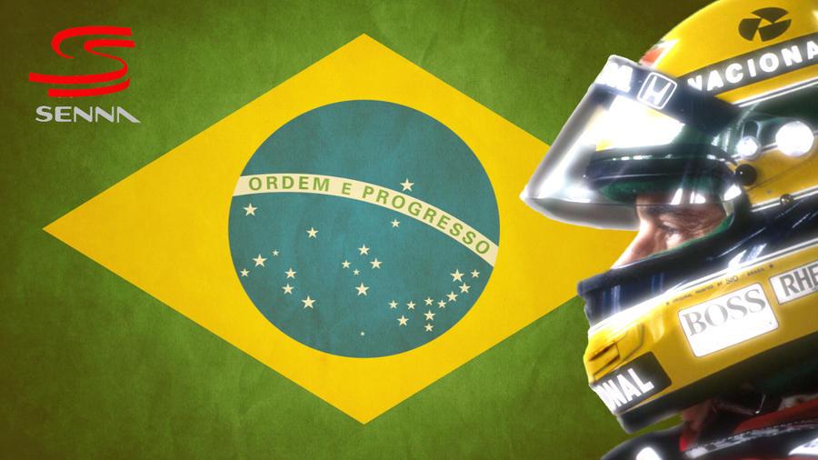 Ayrton Senna Desktop Wallpaper by ArtyDan