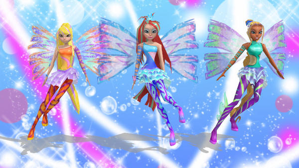 MMD winx club sirenix background by jessie1458