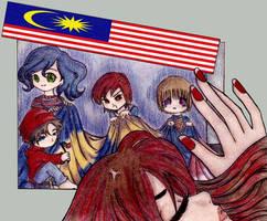 I said I want a bigger flag by syaiz
