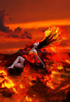 Goddess of Fire :.Pele.: by syaiz