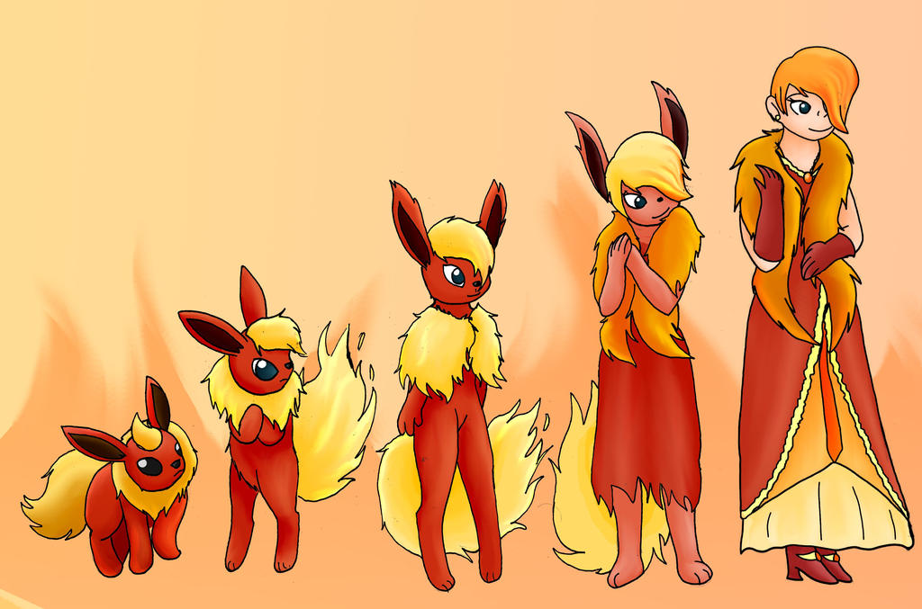 Pokemon to Human: Jolteon by kayanne21 on DeviantArt