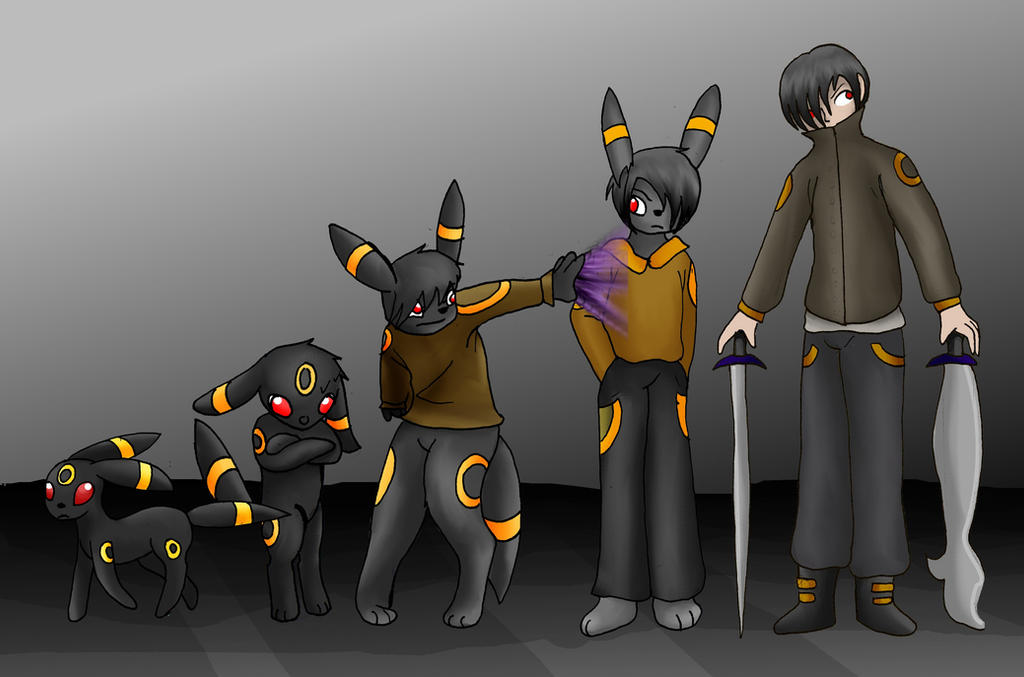 Pokemon to Human: Umbreon by kayanne21 on DeviantArt