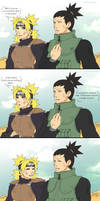 ShikaTema in Naruto 611