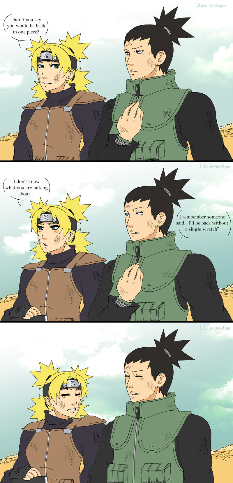 ShikaTema in Naruto 611 by Lilicia-Onechan