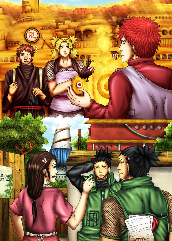 Naruto LoveFest - 2nd Week :Hardships: by Lilicia-Onechan