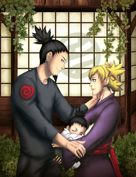 Nara Family - ShikaTema Collab