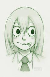 Tsuyu Sketch (Boku No Hero Academia)