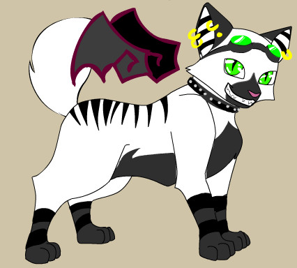me as a cat by element-dragonx