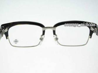 c40c6cc060dd Caitlinas 2 0 Chrome Hearts Eyeglasses Flap DT Half Rim by Caitlinas