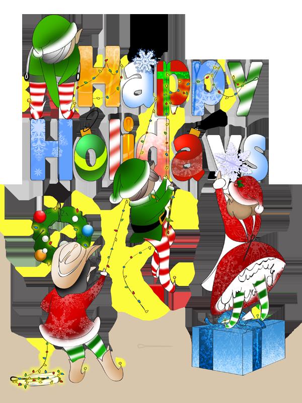 Happy Holidays Seek and Find by Foayasha