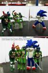 Rule 63 Turtles vs Sonic the Hedgehog Comicpalooza by Foayasha