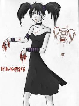 Hungry Vampire Girl