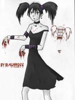 Hungry Vampire Girl by BLACKROZIZBLACKROZIZ