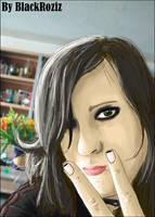 Portrait Ariska by BLACKROZIZBLACKROZIZ