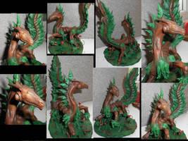 Forest Dragon by KinokoKoneko