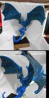 Blue Dragon by KinokoKoneko
