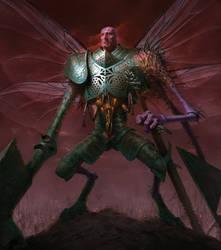 9th Age Envy Daemon by Chozobudgie