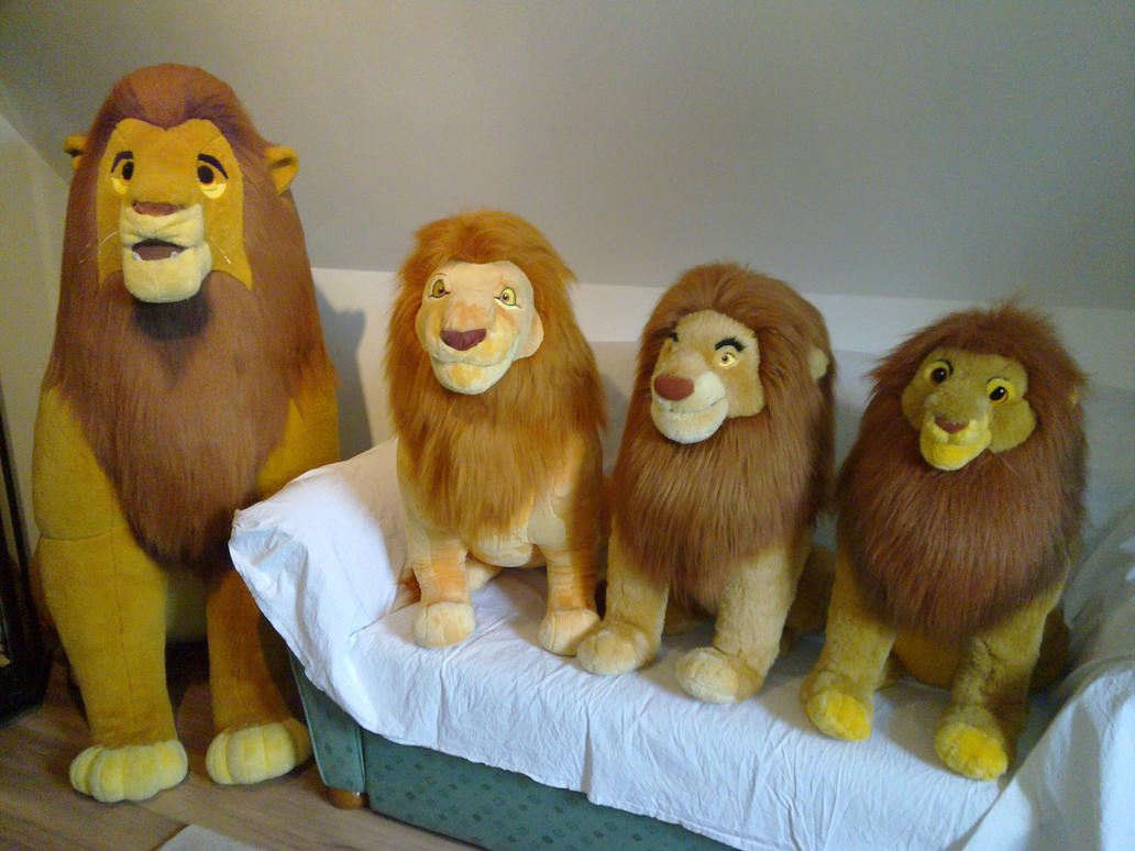 Lion King Disney plush by Frieda15