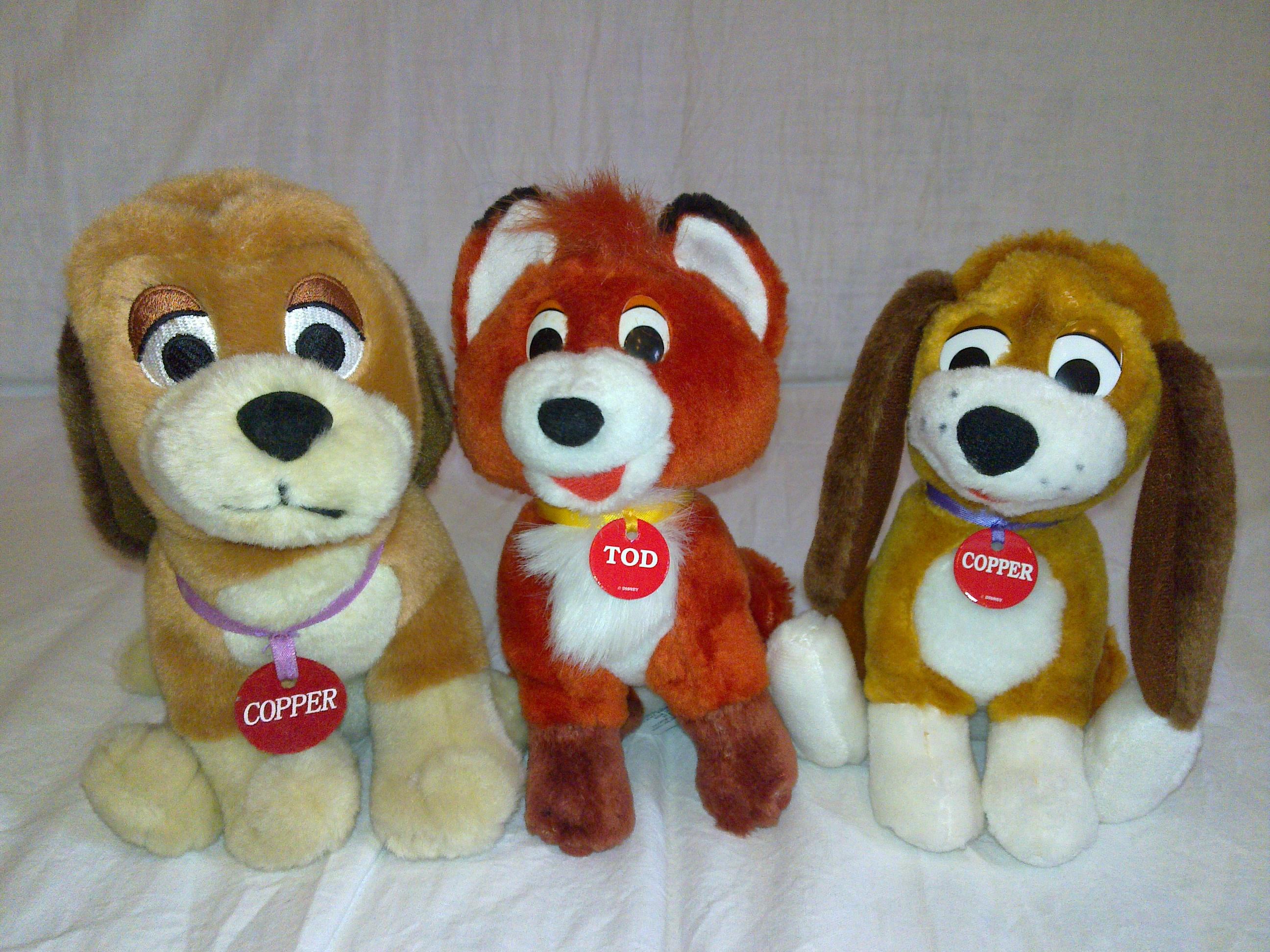 Fox and Hound plush by Frieda15
