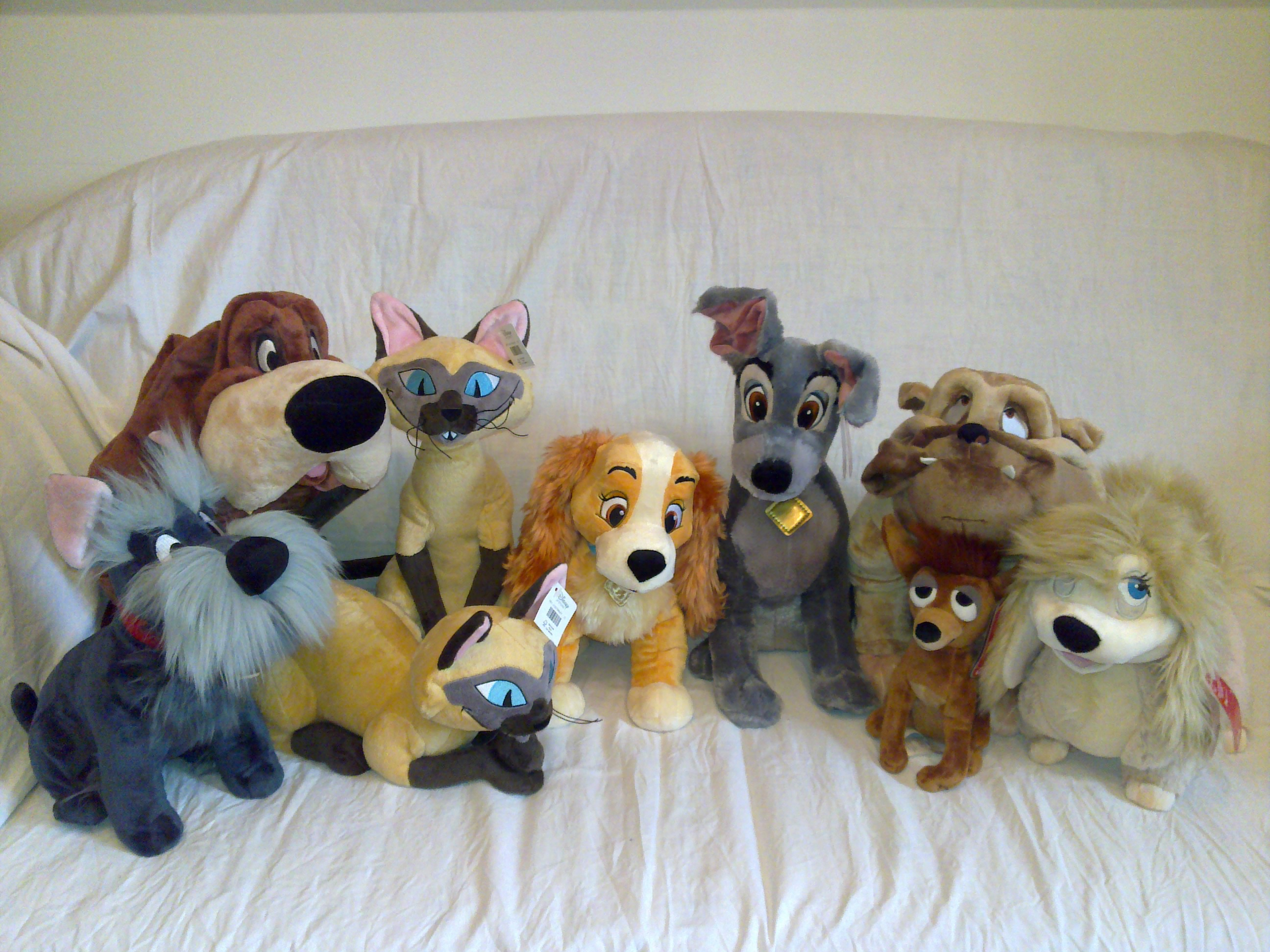 The Lady And The Tramp Plush By Frieda15 On Deviantart
