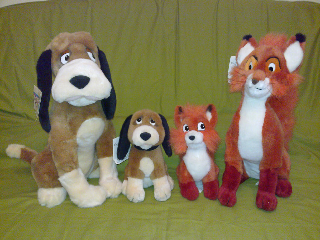 adult and junior fox and hound plush by frieda15 d5lhp3v Police investigate Ashby teen sex claims