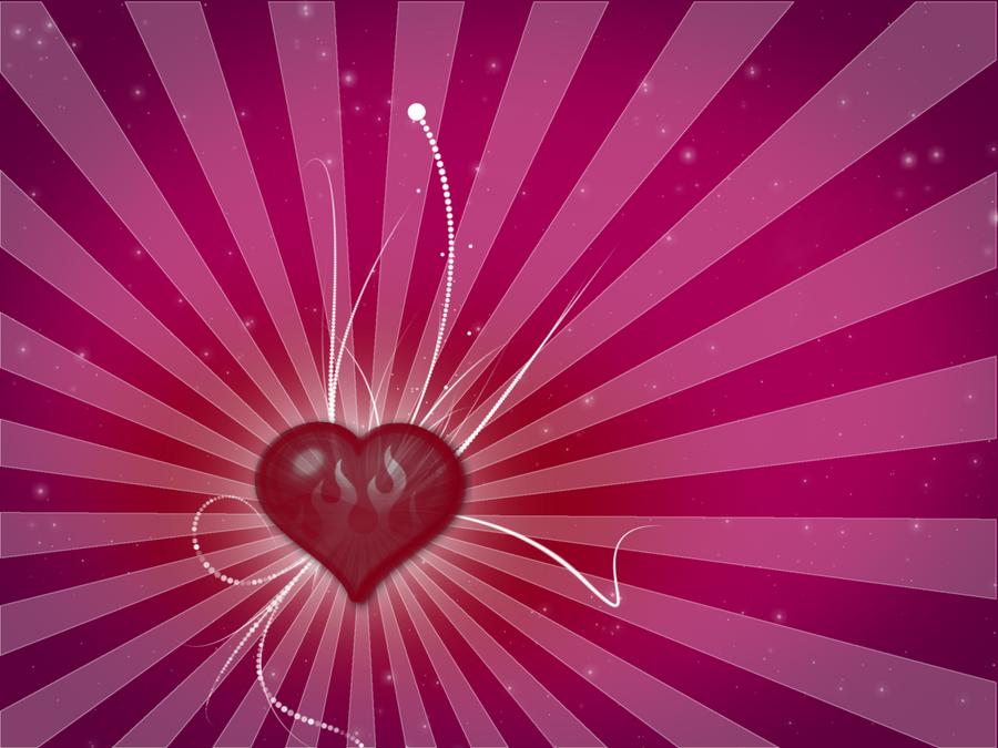 Violet Love Wallpaper by Grelek on DeviantArt