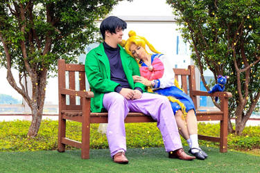 Mamo-chan and Usa by renataeternal