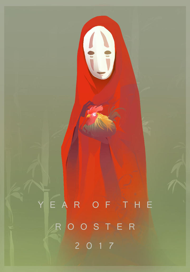 Kaonashi Rooster by Gokupo101