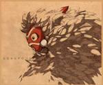 Sketch - Mononoke Hime