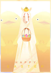 Kaonashi-Easter by Gokupo101