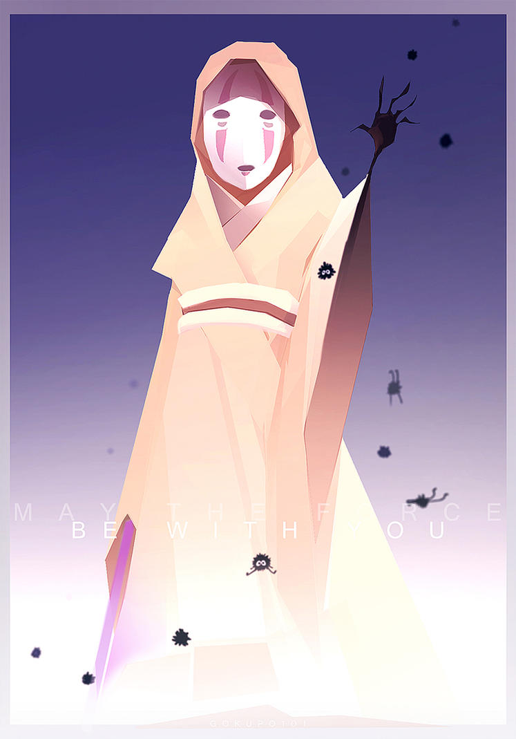 Kaonashi has the Force by Gokupo101