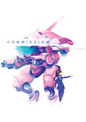 D.Va Commission by Gokupo101