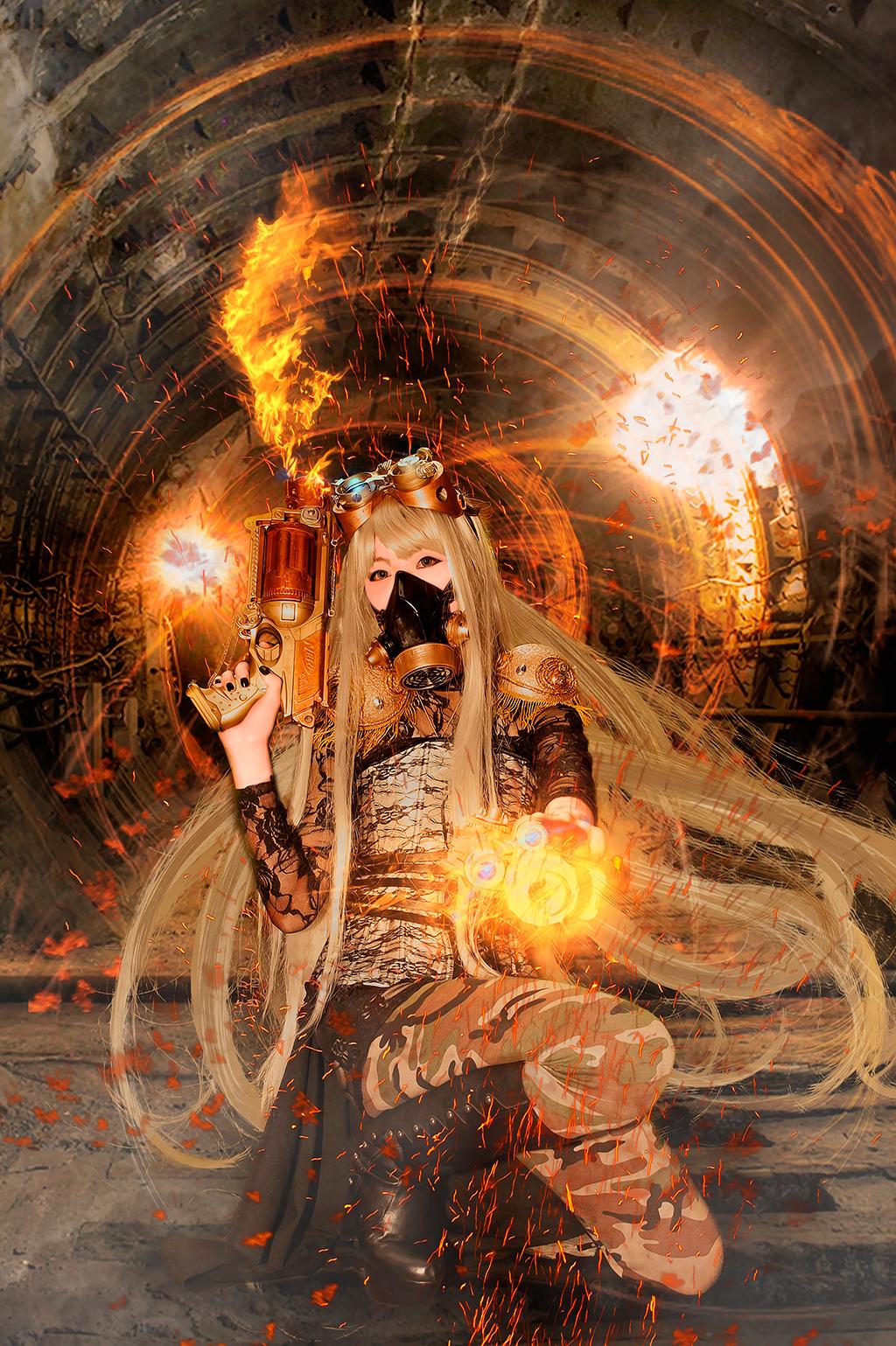 Lady Alison Emily Ashworth Steampunk by s4kuda1sh0