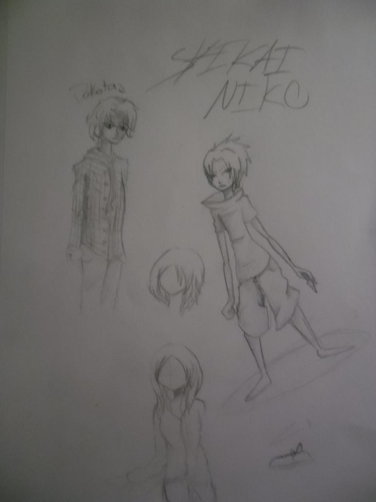 Random doodles by ShikaiNiko