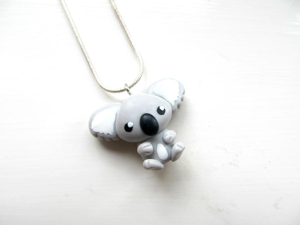 Koala Necklace by DapperLittleMagpie
